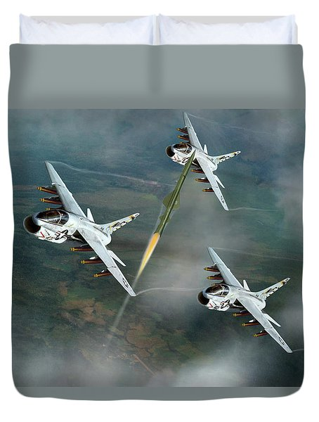 Welcome To North Vietnam Duvet Cover