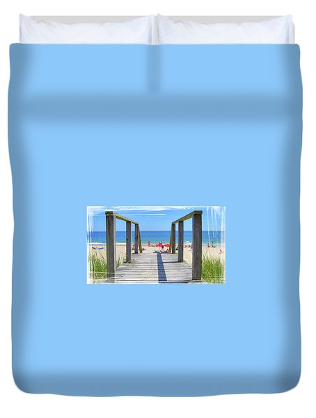 Welcome To Summer Duvet Cover