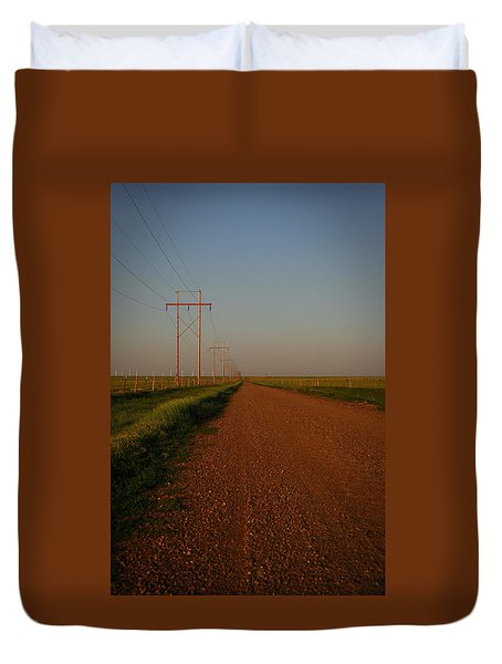Welcome To Texas Duvet Cover