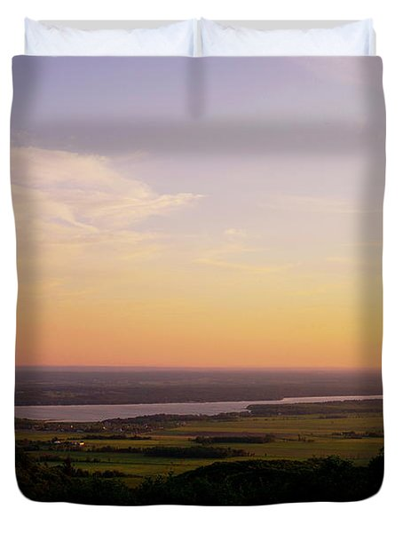 Welcome To The Valley Duvet Cover