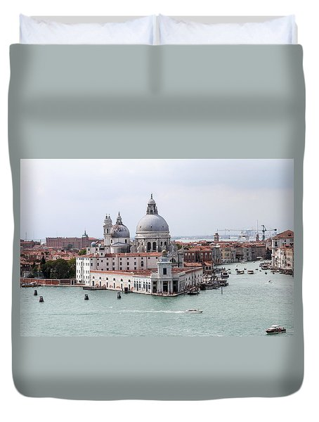 Welcome To Venice Duvet Cover