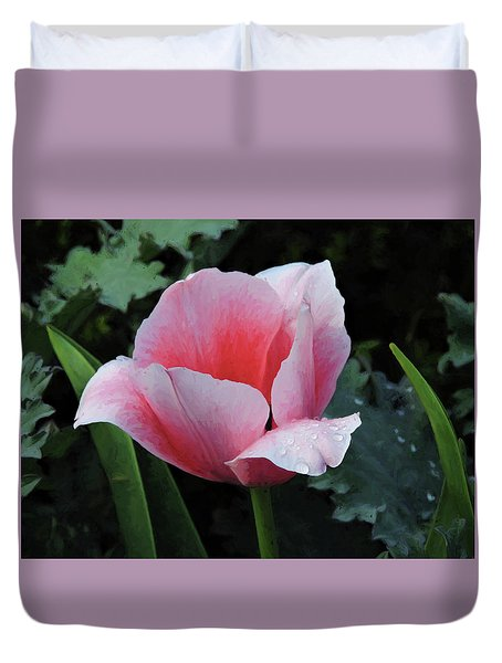 Welcome Tulip Duvet Cover