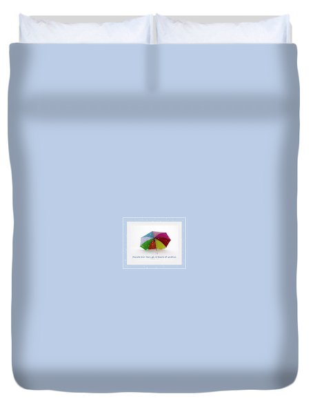 Well-weathered Friends Duvet Cover