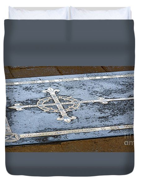 Wells Cathedral Tomb Duvet Cover