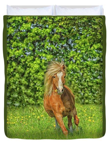Welsh Pony Duvet Cover
