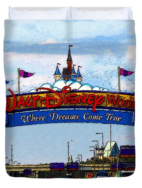 Were Dreams Come True Duvet Cover