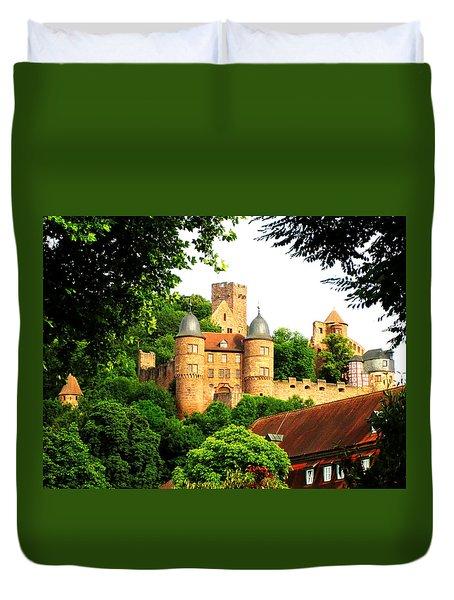 Wertheim Castle Duvet Cover