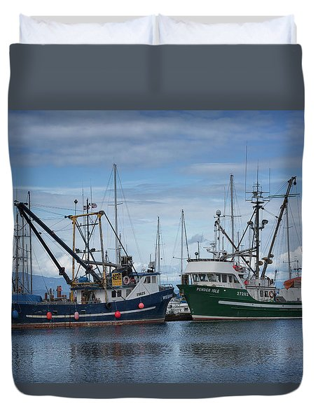 Wespak And Pender Isle Duvet Cover by Randy Hall