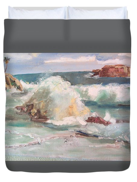 West Coast Duvet Cover