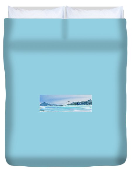 West Coast  Isle Of Pines, New Caledonia Duvet Cover