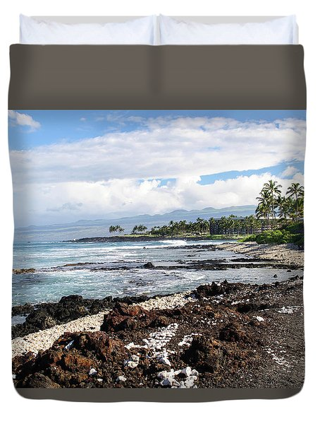 West Coast North Duvet Cover