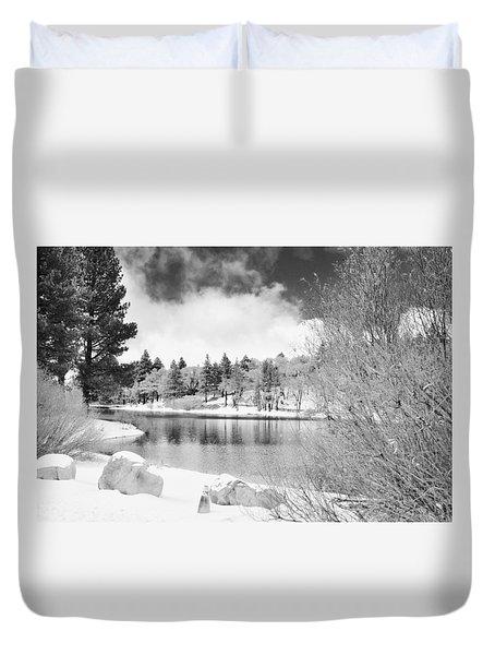 West Coast Winter Duvet Cover