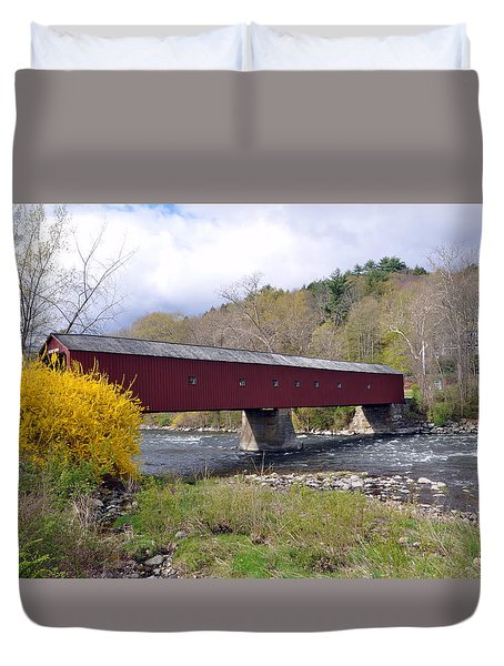 West Cornwall Ct Covered Bridge Photograph By Glenn Gordon