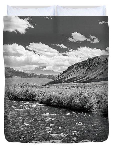 West Fork, Big Lost River Duvet Cover