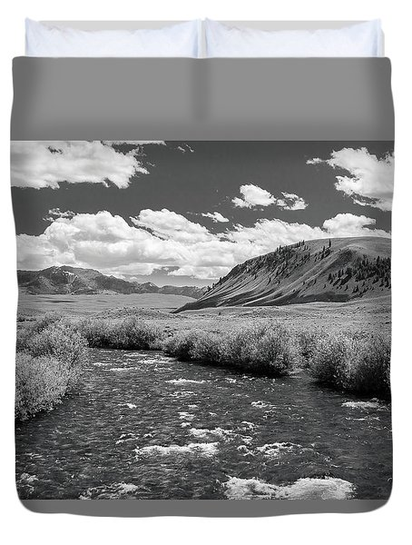 West Fork, Big Lost River Duvet Cover