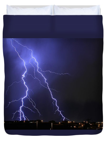 West Jordan Lightning 1 Duvet Cover