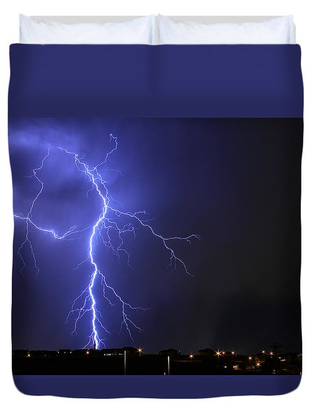 West Jordan Lightning 2 Duvet Cover