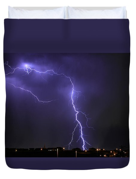 West Jordan Lightning 3 Duvet Cover