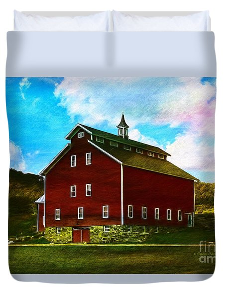 West Monitor Barn Vermont Duvet Cover