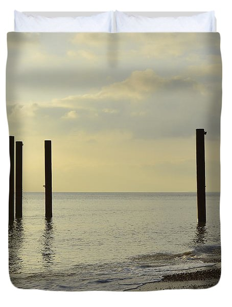 West Pier Supports Duvet Cover