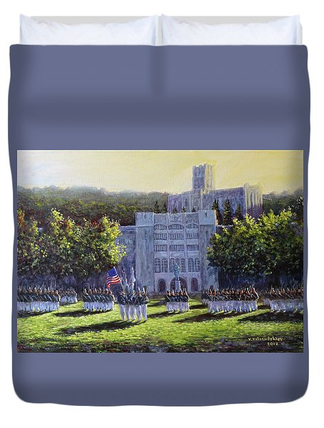 West Point Parade Duvet Cover