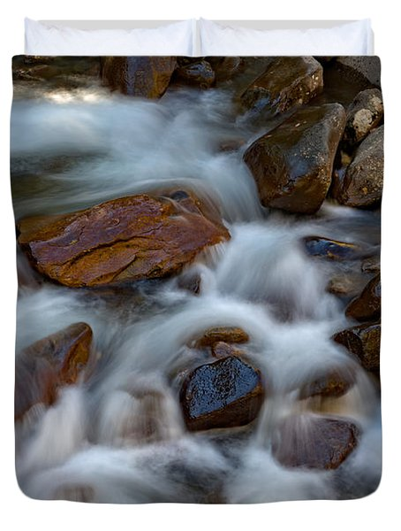 West Prong Little Pigeon River Duvet Cover