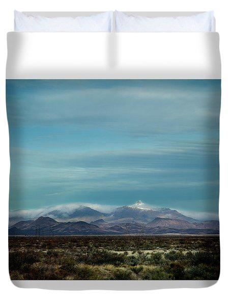 West Texas Skyline #1 Duvet Cover