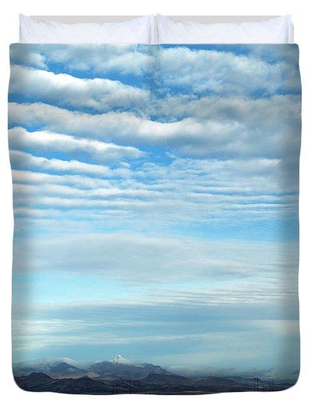 West Texas Skyline #2 Duvet Cover