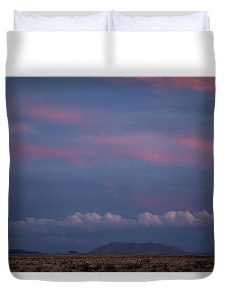 West Texas Sunset #2 Duvet Cover