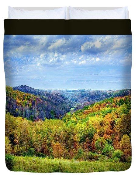 West Virginia Duvet Cover