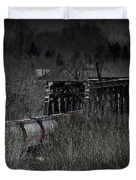Westbound Grain II Duvet Cover