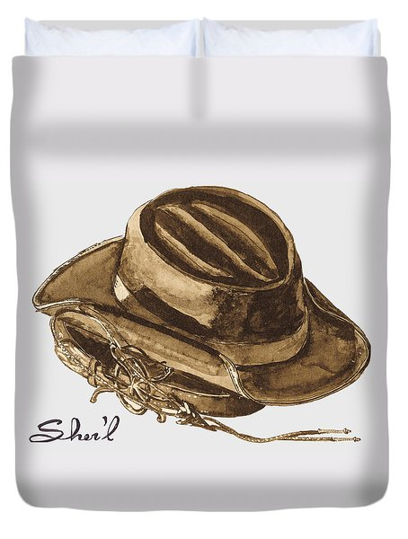 Western Apparel Duvet Cover