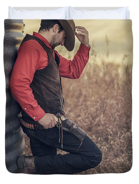 Western Dreams Duvet Cover