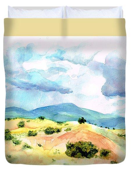 Western Landscape Duvet Cover