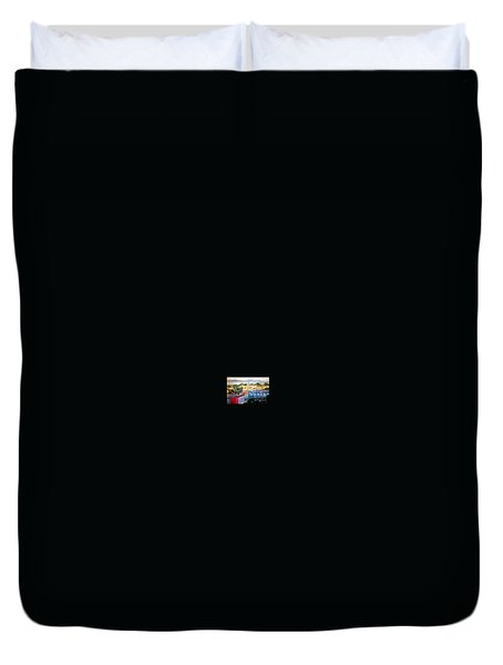Western Part Of Sorong Town Duvet Cover