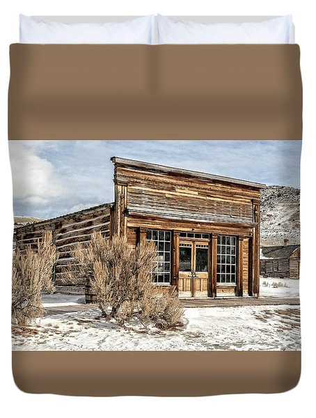 Western Saloon Duvet Cover