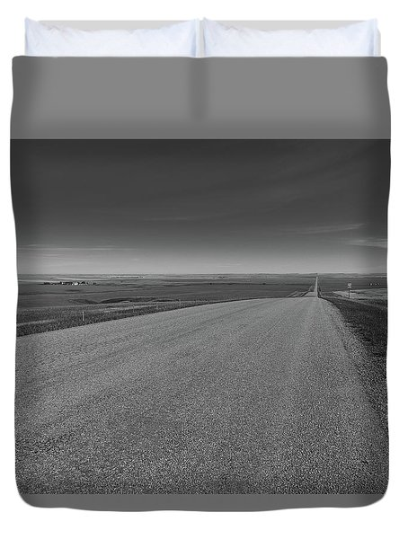 Western Sunrise Duvet Cover
