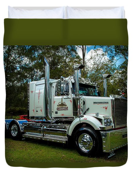Western Star Duvet Cover