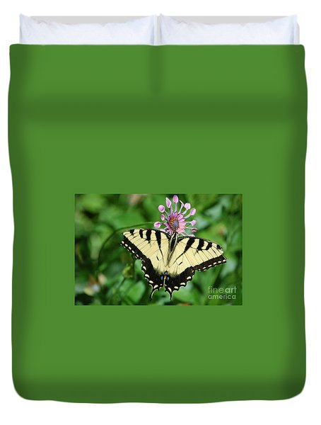 Western Tiger Swallowtail Duvet Cover