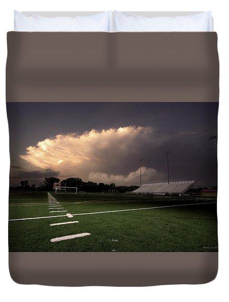 Westerville North Warrior Stadium Duvet Cover