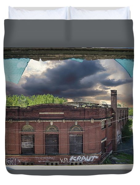 Westinghouse In A Storm Duvet Cover