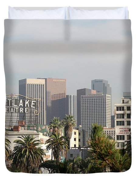 Westlake, Los Angeles Duvet Cover