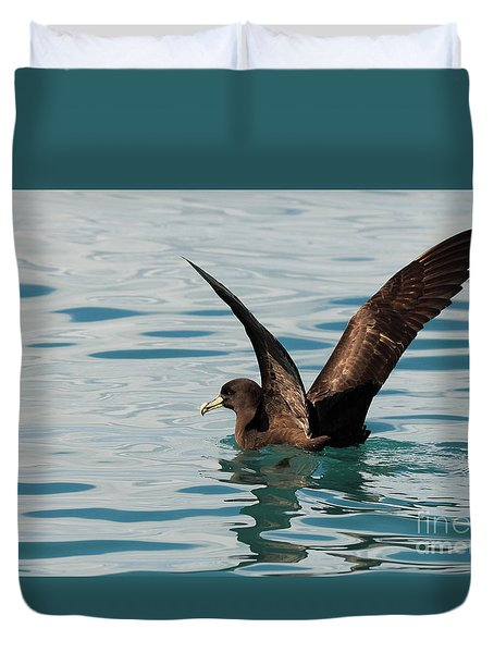 Westland Petrel Raising Wings Duvet Cover