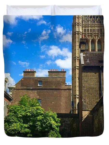 Westminster Abby Garden Duvet Cover