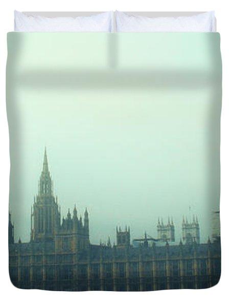 Westminster Fog Duvet Cover
