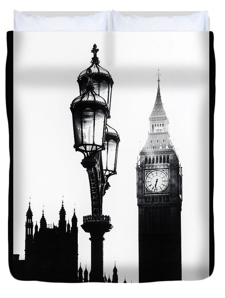 Westminster - London Duvet Cover by Joana Kruse