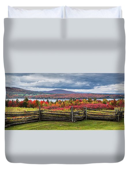 Westmore Overlook Duvet Cover by Tim Kirchoff