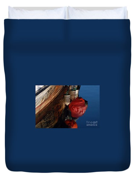 Bouy Reflection Duvet Cover