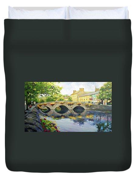 Westport Bridge County Mayo Duvet Cover by Conor McGuire