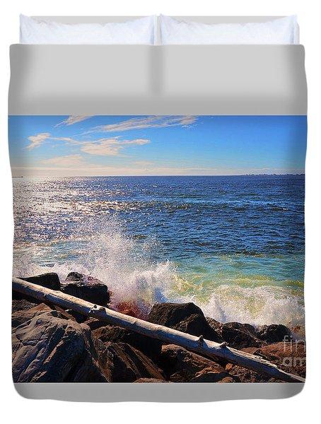 Westport Waves Duvet Cover